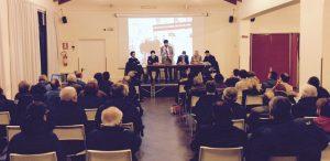 Il ritorno a Romentino per la presentazione del PDL