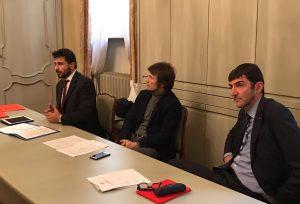 Conferenza Stampa PDL Usura - Domenico Rossi, Gabriele Molinari, Davide Gariglio